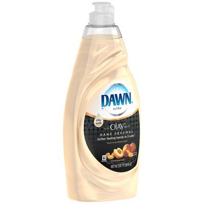 Dawn Hand Renewal Peach & Almond Dishwashing Liquid