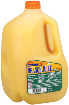 UNITED DAIRY 100% Pure Orange Juice