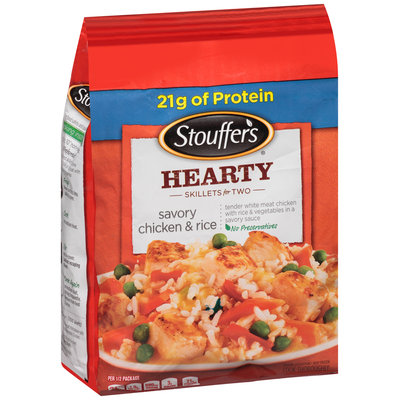 Stouffer's Skillets Savory Chicken And Rice