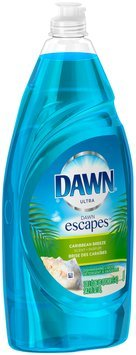Ultra Dawn Escapes Dishwashing Liquid Caribbean Breeze