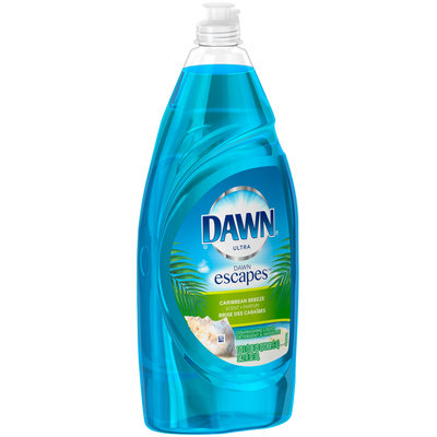 Ultra Dawn Escapes Dishwashing Liquid Caribbean Breeze