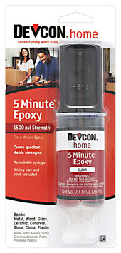 Devcon® Home 5 Minute® Epoxy 0.84 fl. oz. Syringe
