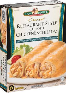 Don Miguel® Gourmet Restaurant Style Chipotle Chicken Enchiladas 6 ct Box