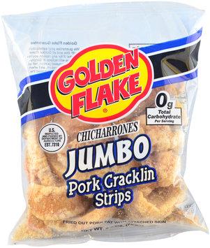 golden flake® jumbo strips pork cracklin chicharrones