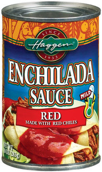 Haggen Red Mild Enchilada Sauce 10 Oz Can