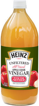Heinz® Unfiltered Apple Cider Vinegar 32 fl. oz. Plastic Bottle