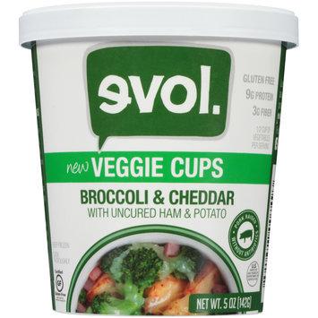 EVOL Broccoli & Cheddar Veggie Cups 5 oz. Cup