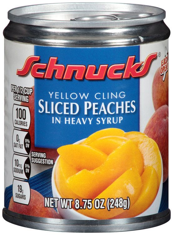 Schnucks® Yellow Cling Sliced Peaches in Heavy Syrup
