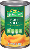 Springfield® Peach Slices in Heavy Syrup 15.25 oz. Can