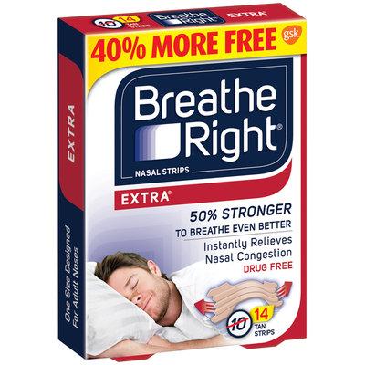 Breathe Right® Extra® Nasal Strips Tan