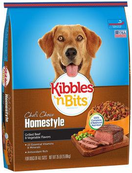 Kibbles 'n Bits Homestyle Roasted Chicken & Vegetable Flavor Dry Dog Food, 31-Pound