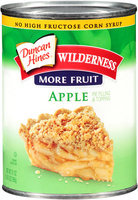 Duncan Hines®Wilderness® More Fruit Apple Pie Filling & Topping 21 oz. Can
