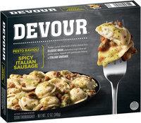 Devour™ Pesto Ravioli with Spicy Italian Sausage 12 oz. Box