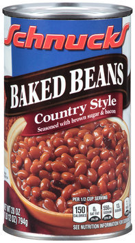 Schnucks® Baked Beans Country Style 28 oz. Can