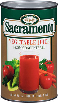 Sacramento® Vegetable Juice from Concentrate 46 fl. oz. Can