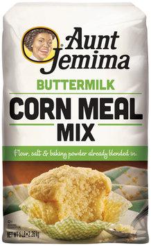 Aunt Jemima Buttermilk White Corn Meal Mix 5 lb. Bag