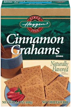 Haggen® Cinnamon Grahams 14.4 oz. Box