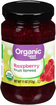 Great Value™ Organic Raspberry Fruit Spread 11 oz. Jar