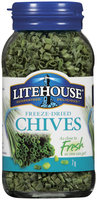 Litehouse Freeze Dried Chives 7 G Jar