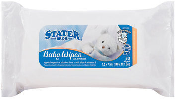 Stater Bros. Scented Baby Wipes 80 Ct Package