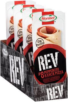 Hormel® Rev® #8 Pepperoni Ranch Pizza 2.7 oz. Box
