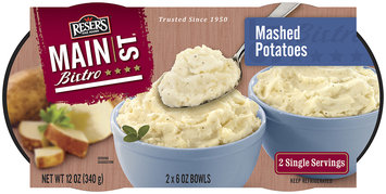 Reser's Main st Bistro Mashed Potatoes Single Servings 2 -