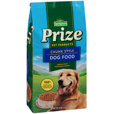 Springfield® Prize Pet Products Chunk Style Dog Food
