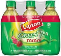 Lipton Minis Iced Green Tea with Mixed Berry
