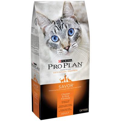 Purina Pro Plan Savor Adult Chicken & Rice Formula Cat Food 3.5 lb. Bag