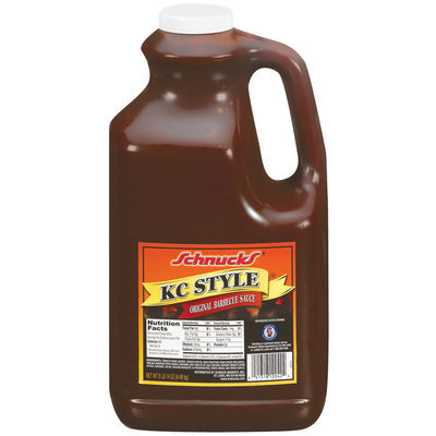 Schnucks Original KC Style Barbecue Sauce 158 Oz Jug