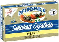 Brunswick Fancy Smoked Oysters 3 Oz Box