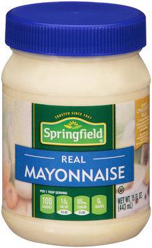 Springfield® Real Mayonnaise 15 fl. oz. Jar