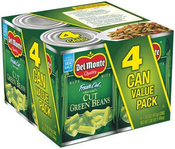 Del Monte® Fresh Cut® Blue Lake® Cut Green Beans 4-14.5 oz. Cans