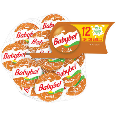 Mini Babybel® Gouda Semisoft Cheese