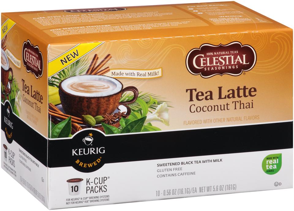 Celestial Seasonings® Tea Latte Coconut Thai Black Tea K-Cup