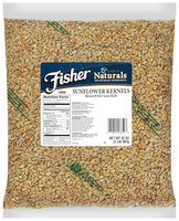 Fisher® Chef's Naturals® Roasted Salted Sunflower Kernels 32 oz. Bag