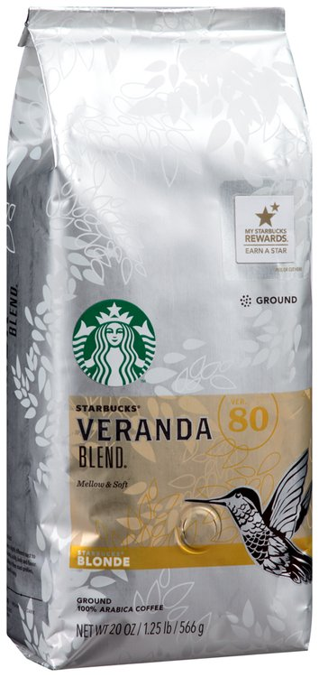 Starbucks® Blonde Veranda Blend Ground Coffee 20 oz. Bag
