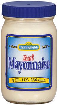 Springfield  Mayonnaise 8 Fl Oz Jar