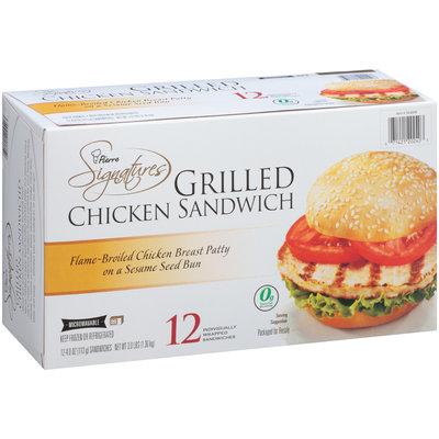Pierre™ Signatures Grilled Chicken Sandwich 12-4 oz. Box