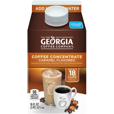 Georgia™ Caramel Flavored Coffee Concentrate 16 fl. oz. Carton