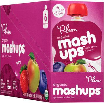Plum Organics® Mashups™ Berry Apple Sauce 6-3.17 oz. Pouches