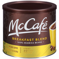 McCafe® Breakfast Blend Ground Coffee 30 oz. Canister