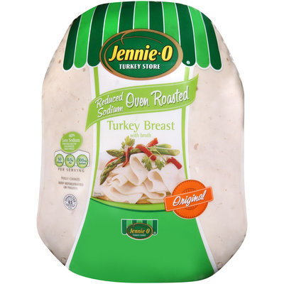 Jennie-O® Original Reduced Sodium Oven Roasted with Broth Turkey Breast