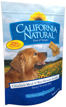 California Natural® HealthBars™ Chicken Meal & Rice Formula Dog Treats 4 lb. Bag