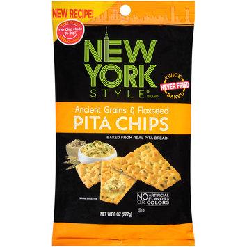 New York Style® Ancient Grains & Flaxseed Pita Chips 8 oz. Bag