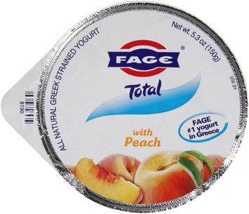 Fage® Total Greek Strained Yogurt with Peach 5.3 oz. Cup