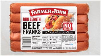 Farmer John® Bun Length Beef Franks 5 Pack
