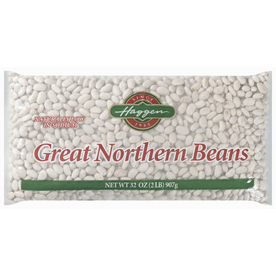 Haggen Great Northern Beans 32 Oz Bag