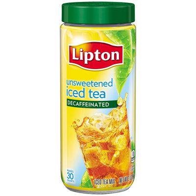 Lipton® Decaffeinated Unsweetened Iced Tea Mix 3 oz. Jar