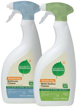 Seventh Generation Bathroom Cleaner & Multi-Surface Cleaner Group Household Cleaner   Spray Bottle